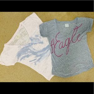 T-shirt lot American Eagle